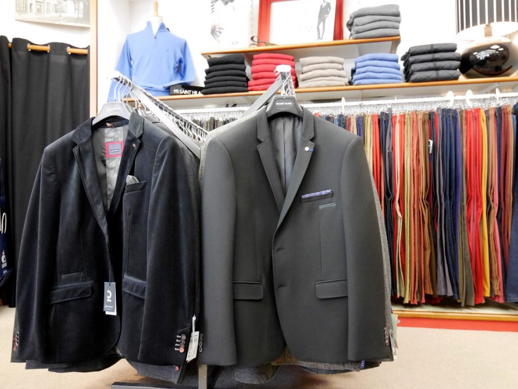 Costumes et vestes tous styles