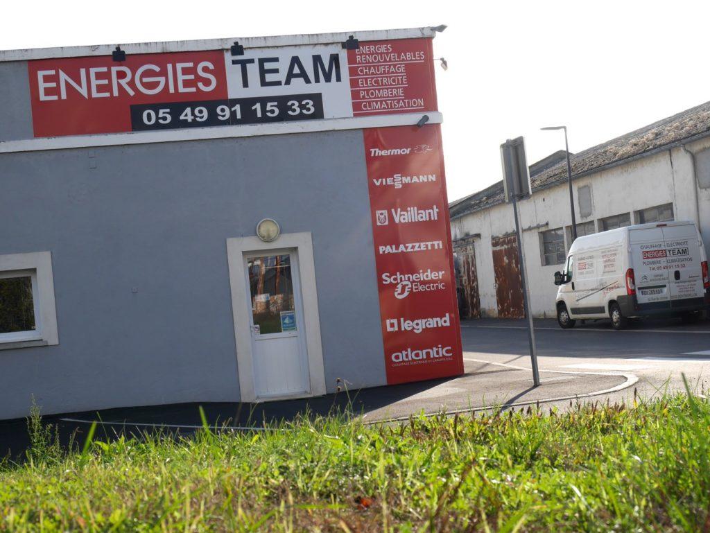 Bureaux et atelier à Montmorillon